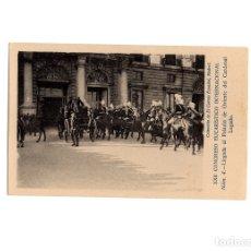 Postales: MADRID.- XXII CONGRESO EUCARISTICO INTERNACIONAL. LLEGADA AL PALACIO DE ORIENTE DEL CARDENAL LEGADO.. Lote 175365189
