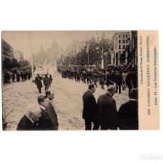 Postales: MADRID.- XXII CONGRESO EUCARISTICO INTERNACIONAL. LOS TERCIARIOS FRANCISCANOS.. Lote 175401429