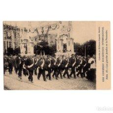 Postales: MADRID.- XXII CONGRESO EUCARISTICO INTERNACIONAL. LOS GUARDAS JURADOS EN LA PROCESIÓN.. Lote 175401680