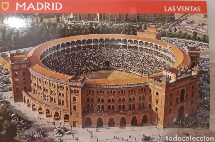 POSTAL PLAZA DE TOROS DE LAS VENTAS MADRID (Postales - España - Madrid Moderna (desde 1940))
