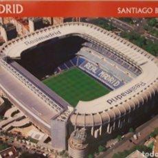 Postales: POSTAL DEL SANTIAGO BERNABÉU. REAL MADRID. Lote 175535885