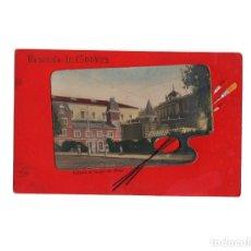 Postales: MADRID.- ENTRADA AL CAMPO DEL MORO. RECUERDO DE MADRID.. Lote 175746424