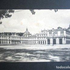 Postales: POSTAL ARANJUEZ. PALACIO REAL. PLAZA DE ARMAS. HAUSER Y MENET. DIPUTACIÓN PROVINCIAL MADRID.. Lote 176095248