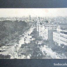 Postales: POSTAL MADRID. CALLA ALCALÁ DESDE ESCUELAS DE AGUIRRE. HAUSER Y MENET. DIPUTACIÓN MADRID. . Lote 176095614
