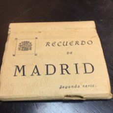Postales: RECUERDO POSTALES MADRID SEGUNDA SERIE. Lote 176243093