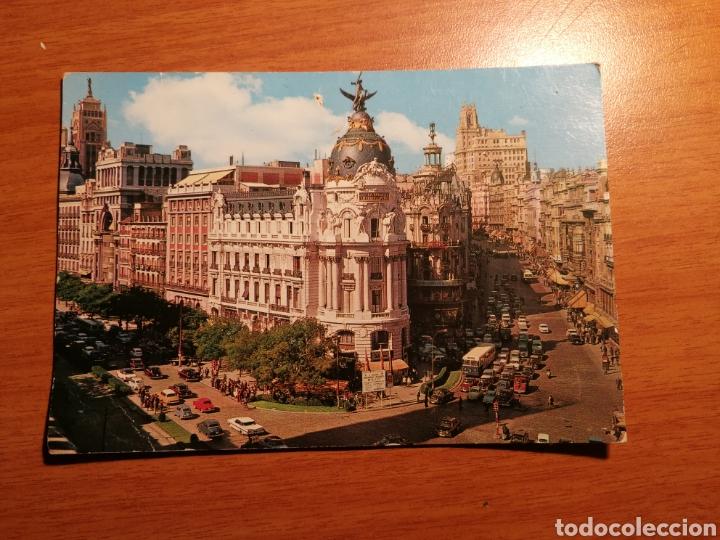 MADRID CALLE ALCALA Y AVENIDA JOSE ANTONIO (Postales - España - Madrid Moderna (desde 1940))