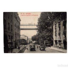 Postales: MADRID.- CALLE DE SEGOVIA Y EL VIADUCTO.. Lote 176485113