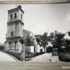 Postales: ANTIGUA Y BONITA POSTAL DE NAVACERRADA - IGLESIA PARROQUIAL - NO CIRCULADA - EN BUEN ESTADO - EDICIO. Lote 176494599