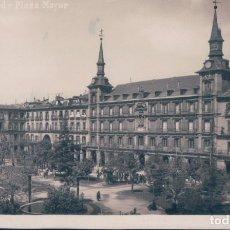 Postales: POSTAL FOTOGRAFICA - MADRID PLAZA MAYOR - FOT G.H ALSINA 43 - CIRCULADA. Lote 176975832