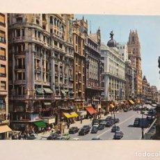 Postais: MADRID. POSTAL ANIMADA NO.132, AVENIDA JOSÉ ANTONIO. EDITA: GARCIA GARRABELLA (H.1960?). Lote 177216312