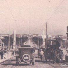 Postales: POSTAL MADRID - PUENTE DE TOLEDO - 64 KALLMEYER HELIOTIPIA - COCHE DE EPOCA . ANIMADA. Lote 177254783