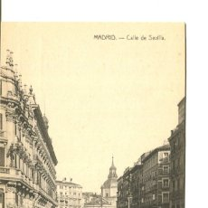 Postales: MADRID-CALLE DE SEVILLA. Lote 177498250
