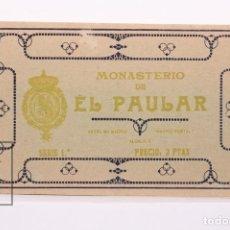 Postales: BLOC DE 15 POSTALES - MONASTERIO DE EL PAULAR - SERIE 1ª - HAUSER Y MENET - SIN CIRCULAR. Lote 177882942