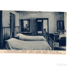 Postales: MADRID.- HOTEL EUROPA ISIDRO GARCIA. CARMEN 4.. Lote 177943957