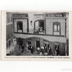 Postales: MADRID.- ABELARDO BARRERA PINTOR. CALLE ARANJUEZ 22.(CUATRO CAMINOS).. Lote 177946167