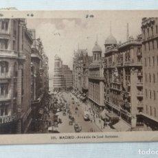 Postales: POSTAL DE LA AVENIDA DE JOSE ANTONIO (MADRID).. Lote 177947143