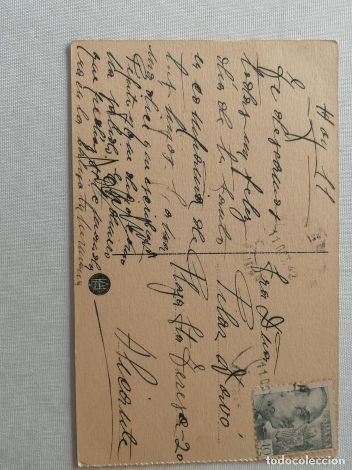 Postales: POSTAL DE LA CASA DE CORREOS (MADRID).AÑO 1942. - Foto 2 - 177948498