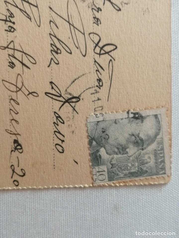 Postales: POSTAL DE LA CASA DE CORREOS (MADRID).AÑO 1942. - Foto 3 - 177948498