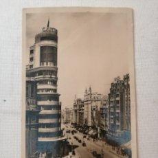 Postales: POSTAL DE LA GRAN VÍA (MADRID).AÑO 1935.. Lote 177951822