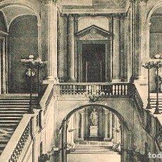 Postales: MADRID, PALACIO REAL, ESCALERA PRINCIPAL, EDITOR: HELIOTIPIA ARTISTICA ESPAÑOLA. Lote 178215201