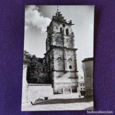 Postales: POSTAL DE TORRELAGUNA (MADRID). N°6 TORRE DE LA IGLESIA PARROQUIAL. AÑOS 50. Lote 178287575