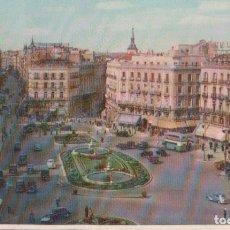 Postales: POSTAL MADRID - PUERTA DEL SOL - 11 HELIOTIPIA. Lote 178329706
