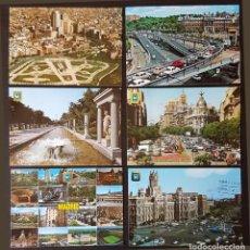 Postales: MADRID LOTE DE 6 POSTALES CIRCULADAS. Lote 178618587