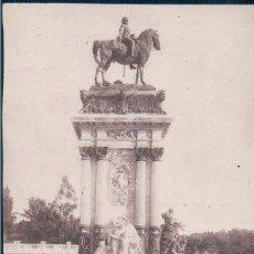 Postales: POSTAL MADRID - PARQUE DEL RETIRO - MONUMENTO ALFONSO XII - LA LIBERTAD - 173 GRAFOS. Lote 178911263