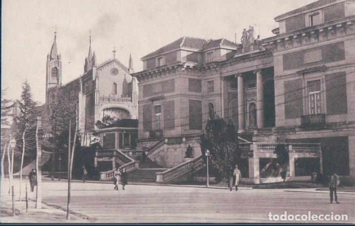 POSTAL MADRID - ENTRADA AL MUSEO DEL PRADO - 60 GRAFOS (Postales - España - Comunidad de Madrid Antigua (hasta 1939))