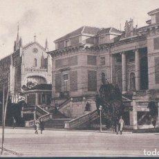 Postales: POSTAL MADRID - ENTRADA AL MUSEO DEL PRADO - 60 GRAFOS. Lote 178911483