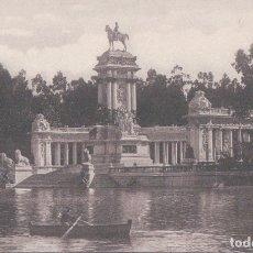 Postales: POSTAL MADRID - PARQUE DEL RETIRO - MONUMENTO A ALFONSO XII - 22 GRAFOS. Lote 178911567