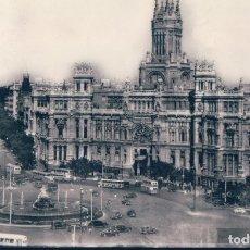 Postales: POSTAL MADRID. POSTAL NO. 51, CIBELES Y CASA DE CORREOS. EDITA: HELIOTOPIA ARTÍSTICA ESPAÑOLA. Lote 178977482