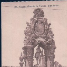 Postales: POSTAL MADRID - PUENTE DE TOLEDO. SAN ISIDRO. GRAFOS 134. Lote 179038755