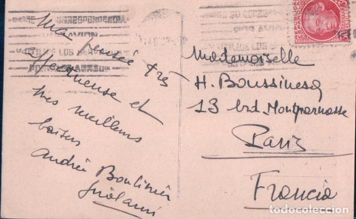 Postales: POSTAL MADRID - MONUMENTO A CERVANTES EN LA PLAZA DE ESPAÑA - SANCHO PANZA - CIRCULADA - Foto 2 - 179179887
