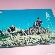 Postales: POSTAL-FUENTE DE CIBELES-MADRID-1963-CIRCULADA-VER FOTOS. Lote 179336292