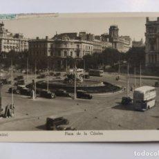 Postales: MADRID-PLAZA DE LA CIBELES-AUTOCAR-13-FOTOGRAFICA SOBERANAS-VER REVERSO-(63.055). Lote 179544890
