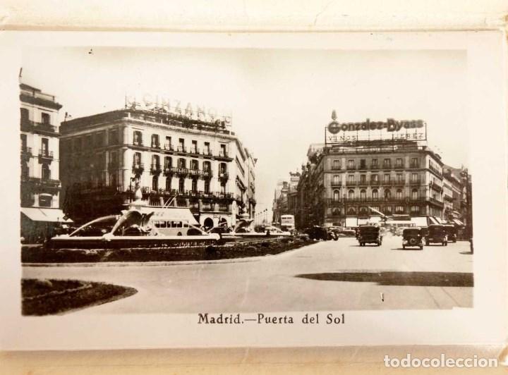 Postales: MADRID MINI CARPETILLA 8 FOTOS. 10x6cm - Foto 3 - 180025777
