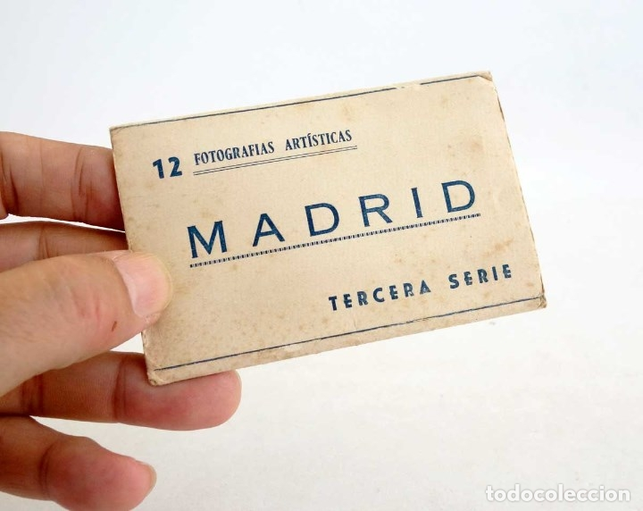 Postales: MADRID MINI CARPETILLA 8 FOTOS. 10x6cm - Foto 4 - 180025777