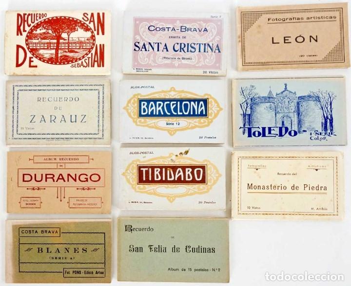 Postales: MADRID MINI CARPETILLA 8 FOTOS. 10x6cm - Foto 5 - 180025777