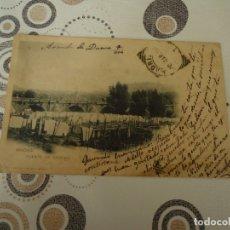 Postales: TARJETA POSTAL 1934, PUENTE DE SEGOVIA EN MADRID. Lote 180050575