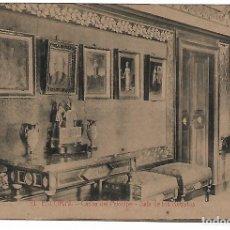 Postales: EL ESCORIAL - CASITA DEL PRINCIPE - SALA DE LOS RETRATOS - FOTOTIPIA CASTAÑEIRA - MADRID -. Lote 180122216