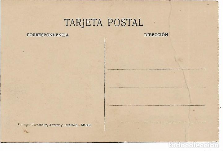 Postales: EL ESCORIAL - CASITA DEL PRINCIPE - SALA AZUL - FOTOTIPIA CASTAÑEIRA - MADRID - - Foto 2 - 180122358