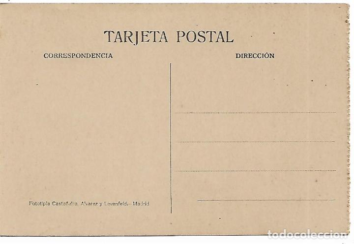 Postales: EL ESCORIAL - CASITA DEL PRINCIPE - SALA DE PORCELANA - FOTOTIPIA CASTAÑEIRA - MADRID - - Foto 2 - 180122472