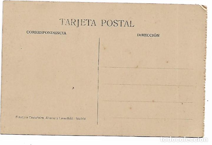 Postales: EL ESCORIAL - CASITA DEL PRINCIPE - EL VESTIBULO - FOTOTIPIA CASTAÑEIRA - MADRID - - Foto 2 - 180122596