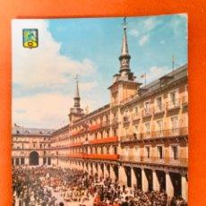 Postales: MADRID PLAZA MAYOR DESFILE POSTAL MADRID N. 97 DOMINGUEZ EDICIONES BARCELONA SIN CIRCULAR . Lote 180337073
