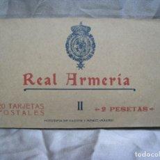 Postales: REAL ARMERIA. TOMO 2. ALBUM 20 POSTALES.. Lote 180858523