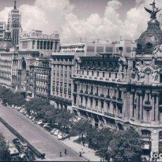 Postales: POSTAL MADRID - EL FENIX Y CALLE ALCALA - DOMINGUEZ - CIRCULADA. Lote 181546583