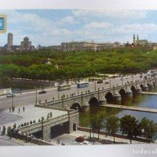 Postales: POSTAL. 137. MADRID. PUENTE DE SEGOVIA Y RÍO MANZANARES. ED. DOMÍNGUEZ. NO ESCRITA.. Lote 182248806