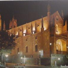 Postales: POSTAL IGLESIA DE LOS JERÓNIMOS DE MADRID. Lote 182398610