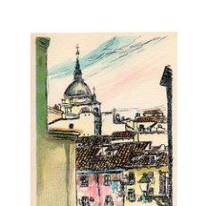 Postales: MADRID.- ANTONIO CASERO, TEJADOS MADRILEÑOS.. Lote 182778900